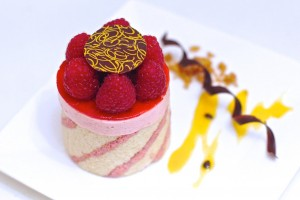 Raspberry Mousse Imprime Entremet (Vegan) Featured in the Plantified Mousses E-book . If you would like a FREE COPY ,sign up to www.plantified.com